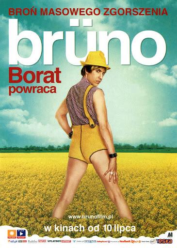 Przód ulotki filmu 'Brüno'