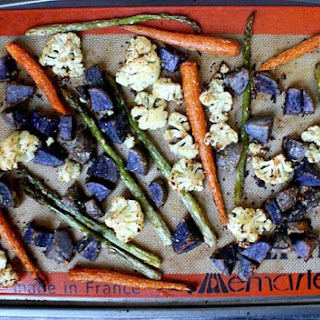 Clean Eating Roasted Vegetable Medley (Vegan, Gluten-Free, Dairy-Free, Paleo-Friendly)