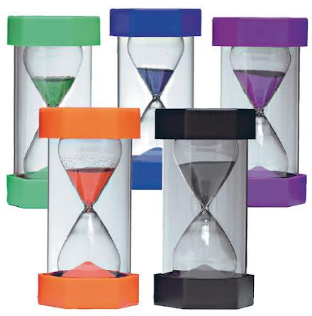 Timglas, 5 olika tider - 7763-899-5