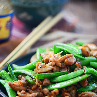 Teriyaki Chicken With Snow Peas