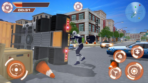 Flying Hero Iron Spider VS Mafia Fighter Adventure 2.3 screenshots 3