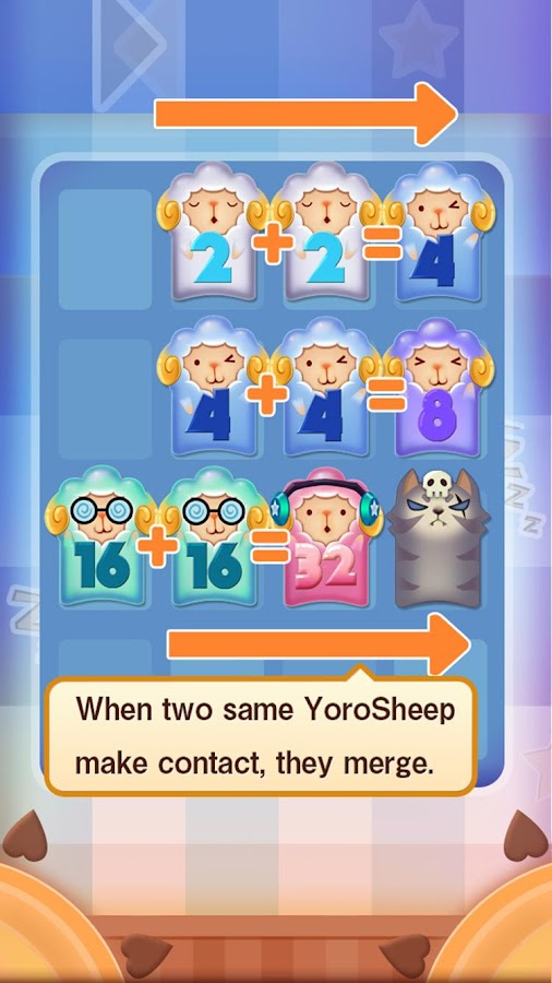 YoroSheep2048- screenshot