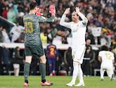 Thibaut Courtois brengt hulde aan Sergio Ramos