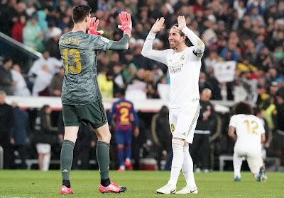 Thibaut Courtois rend hommage à Sergio Ramos