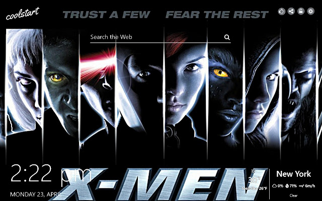X-Men HD Wallpapers Marvel New Tab Theme
