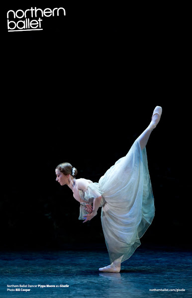 Photo: Northern Ballet Premier Dancer, Pippa Moore, as Giselle. Photo Bill Cooper.