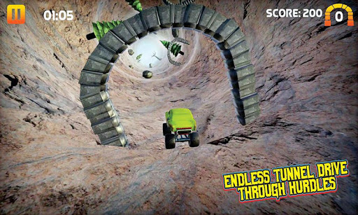 Off Road Outlaw - 4x4 monster truck games 1.0 Mod screenshots 2