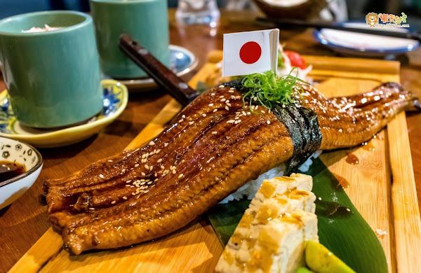 超浮誇!! 一口絕對無法掌握的巨大野鰻握壽司~ 森川丼丼
