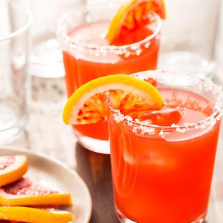 Blood Orange Margaritas for a Crowd.
