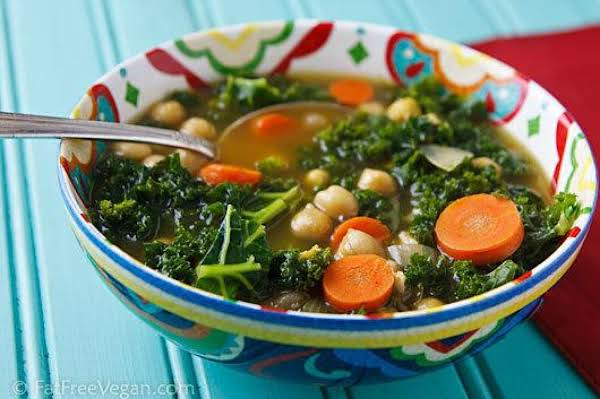 North African Chickpea And Kale Soup Recipe