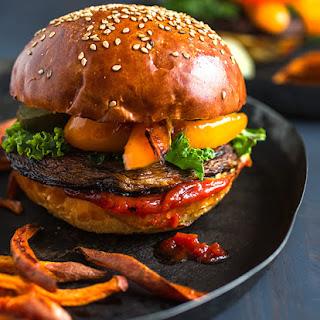 Portobello Burger Heaven
