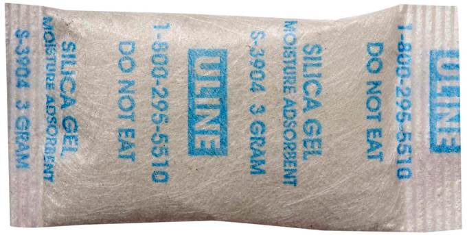 how to protect electronic devices from humidity silica gel