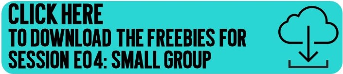 Click here to get my small group freebie files emailed to you!