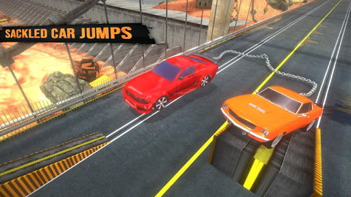 Chained Cars Racing Rampage