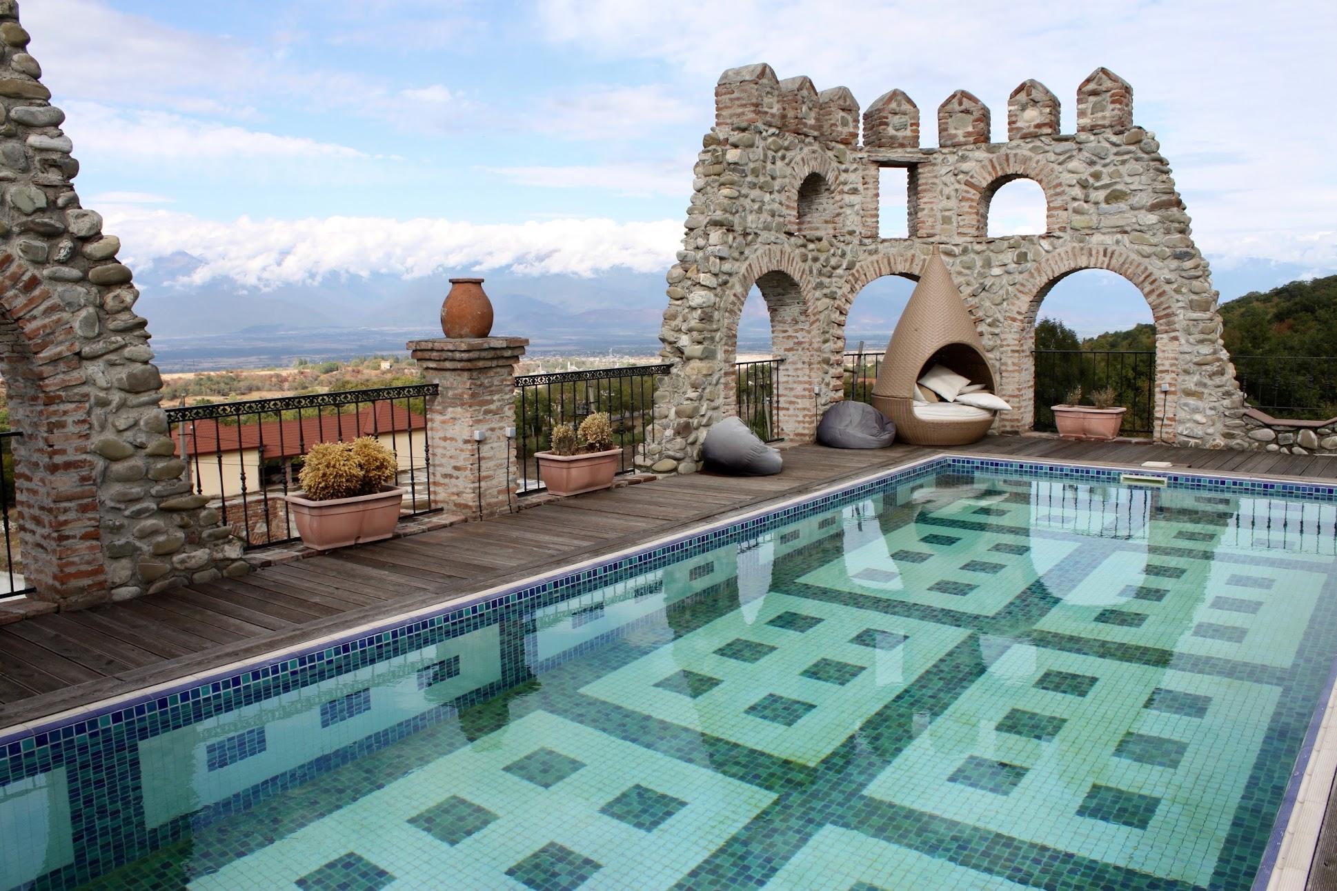 Лучшие отели Кахетии