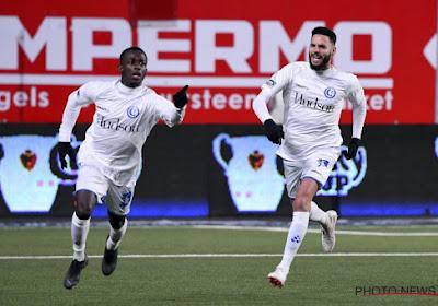 AA Gent is de eerste halvefinalist in de Croky Cup na eenvoudige zege bij STVV: 1-3
