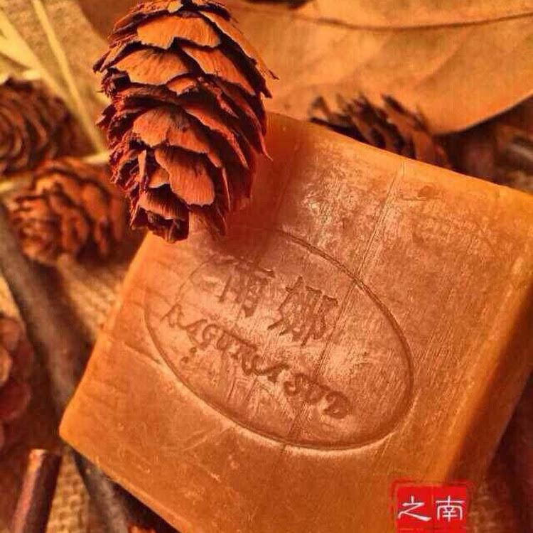 Laguna-Sud Green tea handmade essential oil soap by Laguna Sud