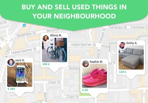 Shpock Boot Sale & Classifieds App. Buy & Sell- screenshot