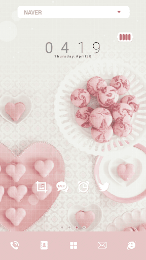 玩免費個人化APP|下載sweet loveドドルランチャーのテーマ app不用錢|硬是要APP