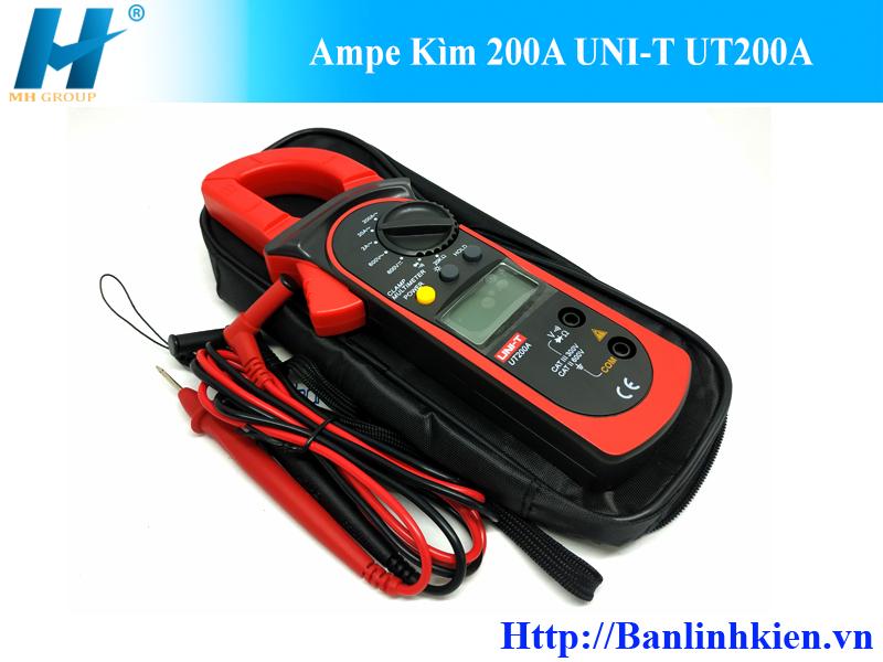 Ampe Kìm 200A UNI-T UT200A