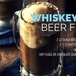 Whiskey Root Beer Floats