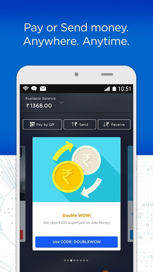 Recharge, Payments & Wallet- screenshot