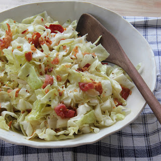German Cabbage Salad.