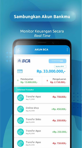 FUNDtastic - Aplikasi Keuangan Pribadi Preview 4