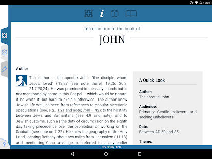 Zondervan NIV Study Bible- screenshot thumbnail