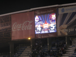 Photo: 20/10/12 v FC Barcelona (Primera Div) 4-5 - contributed by Leon Gladwell