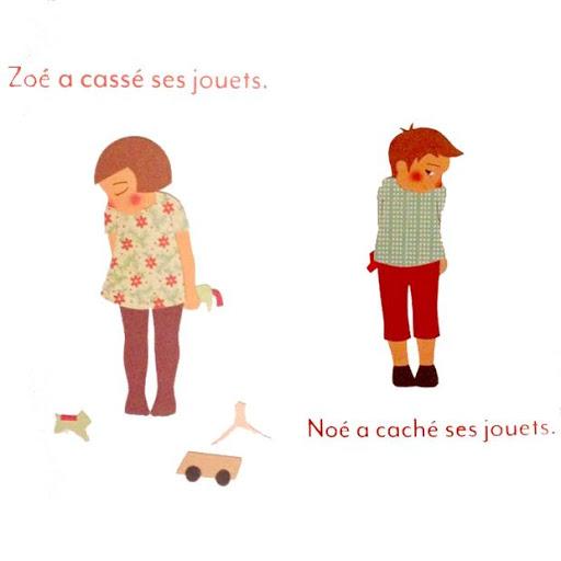 C'est pas la même chose - Editions Mouck - Blog illustration jeunesse Illustre Albert - bookletter - langage