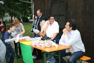Photo: Caccia al tesoro - il tavolo dell'organizzazione