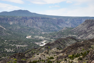 Photo: Rio Grande Canyon from White Rock Overlook