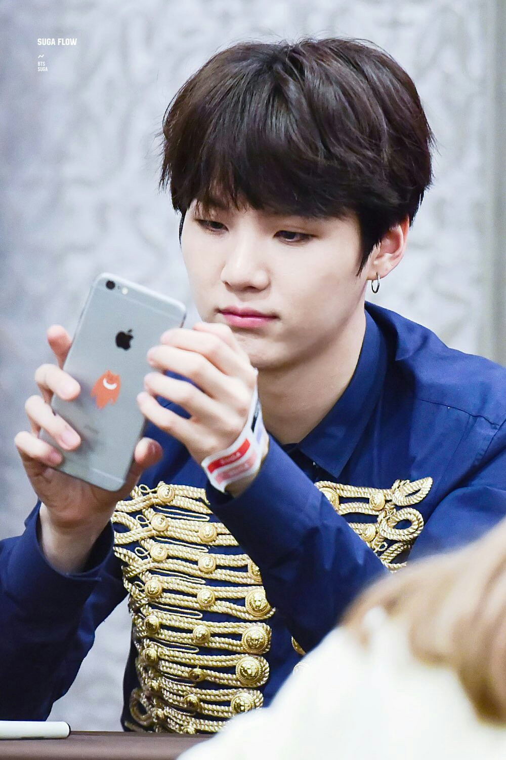 BTS's Suga Receives Texts From