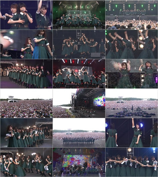 (TV-Music)(1080i) 欅坂46 Part – Rock In Japan 2017 Day4 171001
