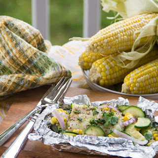 Coconut-Lime White Fish Packets for the Grill.