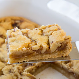 Salted Caramel Crumble Bars.