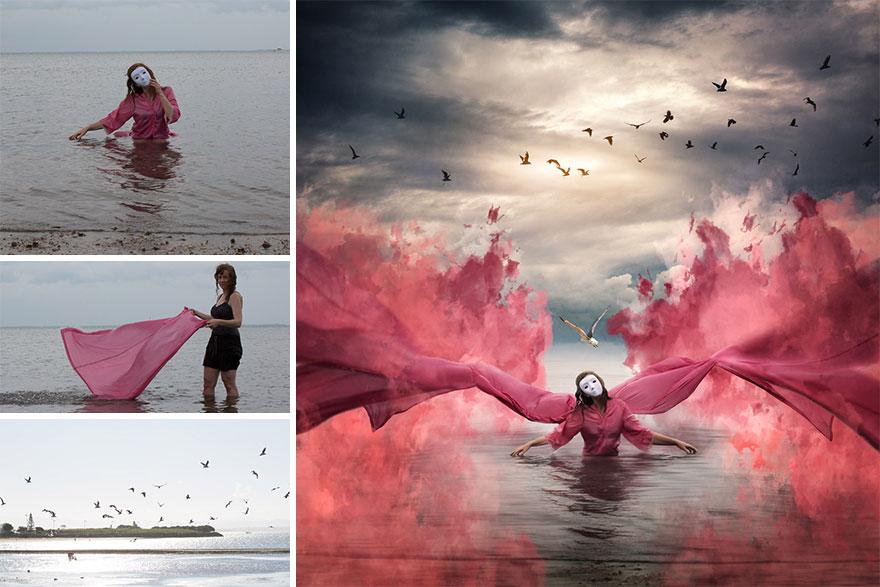 """Metamorphosis"" – Trying Out Digital Painting"