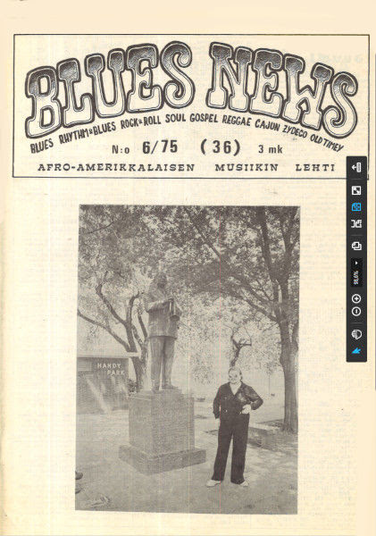 Blues News 6/1975