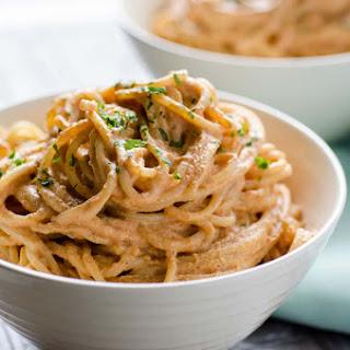 Vegan Creamy Chipotle Pasta Recipe