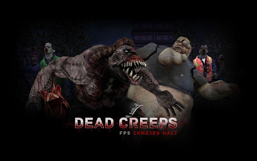 Dead Creeps: FPS Zombies Halt & Shooting Game 1.0.2 screenshots 1
