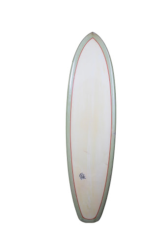 Pyke Surfboard top view