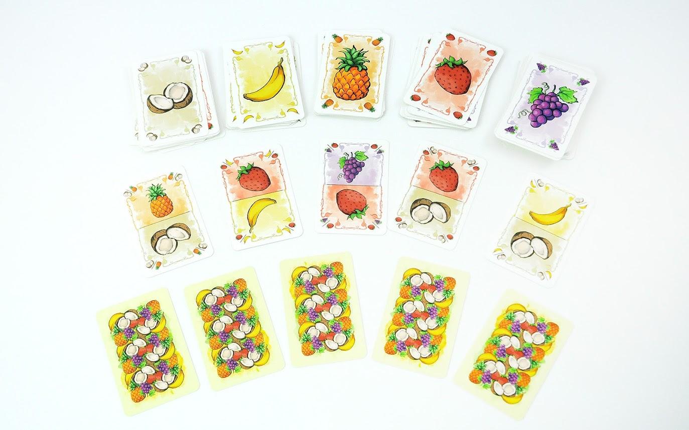 Owocowe Opowieści - karty owoców