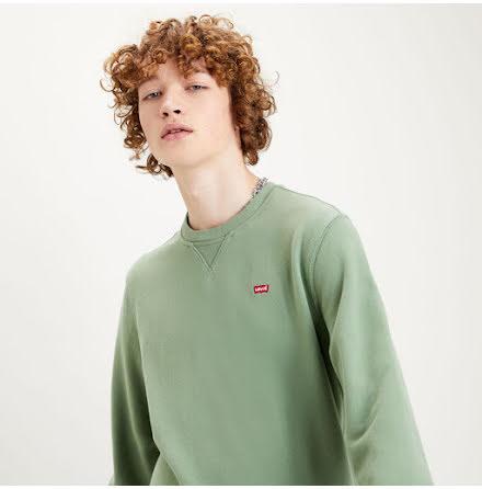 Levi's new original crew hedge green