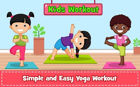 Yoga for Kids and Family fitness – Easy Workout Apk  Download For Android 1