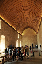 Photo: In the Refectory of the Papal Palace, Avignon