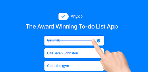 Any.do: To do list, Calendar, Reminders & Planner - Apps on Google Play
