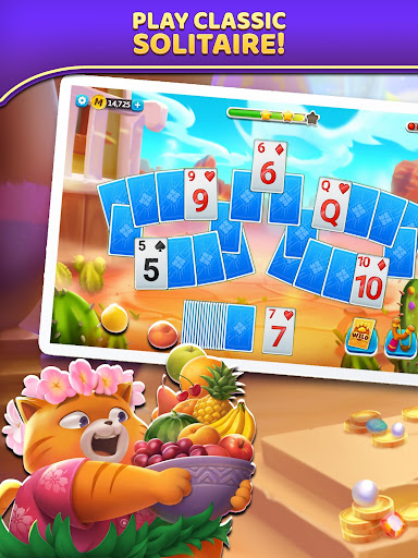 Puzzle Solitaire - Tripeaks Escape with Friends 9.0.0 screenshots 11