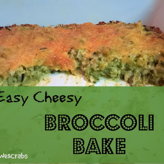 Easy Cheesy Broccoli Bake