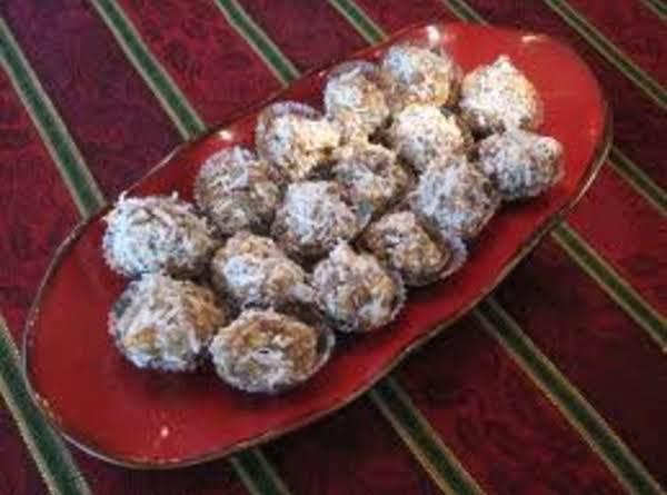 Mom's Date Balls Recipe